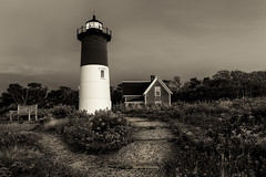 The Path (bprice0715) Tags: canon canoneos5dmarkiii canon5dmarkiii landscape landscapephotography nature naturephotography nausetlight nausetlighthouse capecod blackandwhite blackwhite bw sepia lighthouse outdoors travel detail beautiful beauty beautyinnature moody