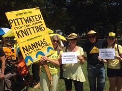 Knitting Nanas (anna_gregory) Tags: climatemarch sydney