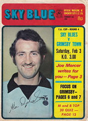 Coventry City vs Grimsby Town - 1973 - Cover Page (The Sky Strikers) Tags: coventry city grimsby town highfield road sky blue official magazine fa cup to wembley 8p