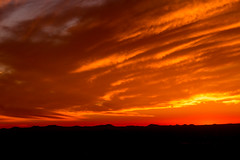 Staying In Between the Lines (Thomas Hawk) Tags: america lascruces newmexico organmountains organmountainsdesertpeaksnationalmonument usa unitedstates unitedstatesofamerica sunset