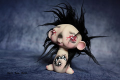 Daryl <3 (Vali.Tox.Doll) Tags: zombie pet zombiepets daryl custom custo neferkane nefer kane circus art toys doll bjd resin