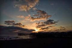 Pacific Beach, CA. (isaacullah) Tags: nexus 5x crystalpier pier sunset light ocean beach water proshot snapseed