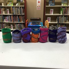 Felt bowl making April 2015 (Riverina Regional Library) Tags: bland library