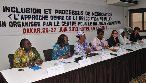 Workshop on gender in negotiations, Dakar, Senegal, June 2013