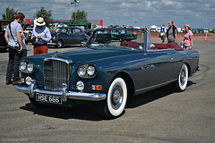 Bentley S3 Continental Drophead (CA Photography2012) Tags: hse666 bentley s3 continental drophead coupe chinese eye classic british convertible gt grand tourer luxury ca photography automotive exotic car spotting drivers club silverstone