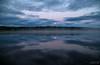 Mirror - Mirror (TorErikP) Tags: reflection lake etnedal røssjøen clouds moon haze dis skyer refleksjon vann innsjø blank speiling stille morning morgen måne