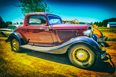 The Best One (KPortin) Tags: rustyrelics lewiscounty vintage automobile ford