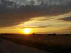 Evening flight (ttbeep) Tags: microlight airplanes aircraft lastlight landscape flight sunflare goldenhour samsungs6edge yorkshire england uk eveningflight sunset
