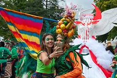 Carnival Selfie (McTumshie) Tags: hornimanbrazil 20160904 hornimancarnival hornimanmuseum london mandingaarts southlondonsamba carnival costumes dance dancing england unitedkingdom londonist