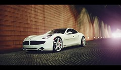 Fisker Karma (Thomas_982) Tags: gt5 gt6 cars fisker karma night city ps3 gran turismo usa american
