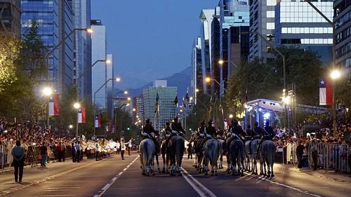 Parada Militar Las Condes 2016 Santiago de Chile