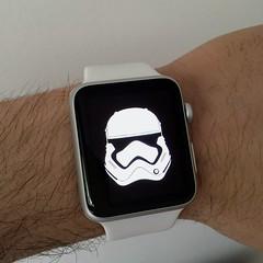 Apple Watch First order (BFLV) Tags: white apple starwars helmet stormtrooper firstorder episode7 applewatch stormtrooperfirstorder