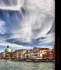 A Venezia è bello anche il cielo - In Venice is beautiful even the sky (Jambo Jambo) Tags: venice sky italy panorama clouds landscape italia nuvole cityscape cielo venezia nikonflickraward nikond5000 jambojambo