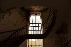 the lab building (bra3nnvin) Tags: old urban window stairs lost exploring rusty glas decayed ue urbex
