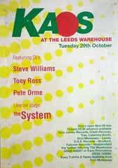 1991 WAREHOUSE LEEDS - (KAOS) .29-10-91 (Columbiantony Photography) Tags: voyage uk england house rock club flyer dj joy leeds dream piano oldschool retro warehouse mc soak hardcore techno clubs rave sasha 1991 1992 seduction quest ark flyers djs oldskool mcs sl2 rhythm westyorkshire nipper hacienda raves grooverider pauloakenfold raveflyer kaos carlcox manic ravers therave virtigo robtissera raveflyers anoxia djmikey warehouseleeds djroy retroflyer tonyross technohardcore shadesofrhythm steluigi rythmquest retroflyers stualan peteorme