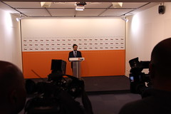 Marco António Costa em Conferência de Imprensa
