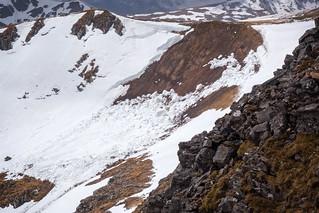 South Glen Shiel Ridge: Avalanche!