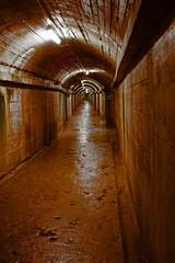 German Underground Hospital (BR0WSER) Tags: building architecture hospital underground arch military corridor tunnel 100views passage guernsey channelislands internal occupation 2015