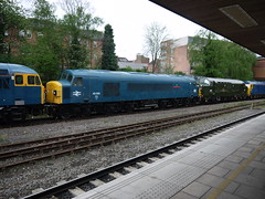 Leicester (DarloRich2009) Tags: leicestershire leicester mml midlandmainline class37 class45 leicesterstation 45060 leicesterrailwaystation sherwoodforrester d6757
