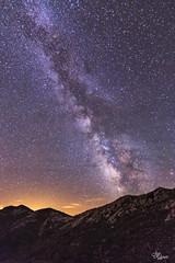 8.000.000 DE VISITAS  - GRACIAS (Urugallu) Tags: naturaleza luz canon noche asturias flickrr cielo estrellas montaña nocturnas frio cosmos universo asturies contaminacionluminica claridad 70d joserodriguez principadodeasturias nicefeelings urugallu vialacte