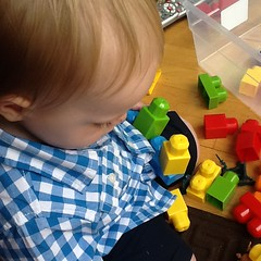 "Paul Plays with Blocks • <a style=""font-size:0.8em;"" href=""http://www.flickr.com/photos/109120354@N07/17647130579/"" target=""_blank"">View on Flickr</a>"