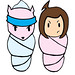 B-Pop & Pinkee-T Cacoon Kids SPWK Art Mummy Pods  Japanimation Anime Manhua Doll