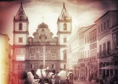 Salvador de Bahia (yrotori2) Tags: voyage travel brasil chiesa bahia piazza viaggi viaggio brasile ferie vacanze pelourinho croce citt sudamerica salvadordebaha