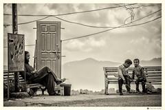 Memoir (Faizan Adil.) Tags: memoir door pakistan kpk portrait documentary faizan adil mentorasifzaidi photojournalism sepia bnw monochrome artist photography 2016 canon t3i rebel children men stereotypes image fish color