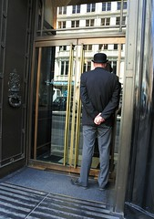 Doorman (UncanD) Tags: door reflection london hotel piccadilly bowlerhat doorman thewolseley