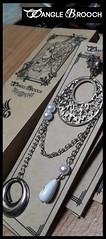 Dangle Brooch Packaging (elmisam) Tags: girls lady women brooch hijab pins packaging accessories dangle