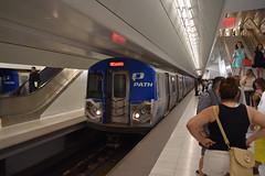 Newark PATH Arrival (T.C.M.) Tags: new york city nyc path train wtc newark panynj transit rail