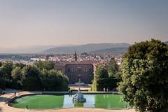 Palazzo Pitti and Firenze from Boboli Gardens (jdahlb) Tags: italy firenze florence pitti boboli canon5dmkiii 5d