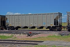 TXUX 073541 Coal Hopper-Alliance, Nebraska. (Wheatking2011) Tags: txux luminant energy known txu corporation bnsf handles trains loads wyoming alliance nebraska september 2002