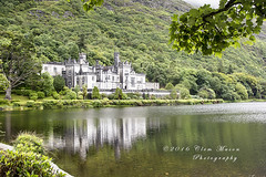 Kylemore Abbey, Galway (Clem Mason) Tags: clemmason canon 5d ireland ngc 2016 july kylemore abbey reflection architecture