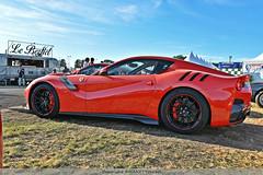 Red Rocket (MANETTINO60) Tags: ferrari f12 tdf lmc lemans lemansclassic v12 red rouge 780hp hp italia maranello supercars hypercar worldcars voiture sport race circuit hdr nikon d5500