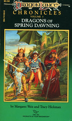 Novel-Weis&Hickman-Dragons-of-Spring-Dawning (Count_Strad) Tags: dragons adventure elf fantasy novel dungeons tsr dragonlance