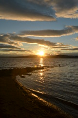 it's that time again (cube core) Tags: dundee sun set tay river beach