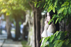 CUTE GIRL (SU QING YUAN) Tags: cute beauty beautiful girl pretty feamle portait 135za sonnart18135 zeiss sony a99 taiwan taipei