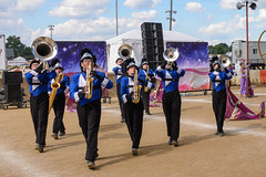Centerville at 2016 State Fair Band Day (WayNet.org) Tags: bandday blueregiment chs centerville indiana indianastatefair indianapolis statefair band colorguard grandstand marchingband track