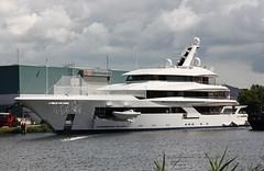 Motor Yacht JOY (helicoatplanet) Tags: joy feadship vanlentshipyard vanlent mmsi319099200 myjoy motoryacht mmsi