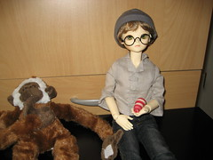 Second Toby Day 005 (EmpathicMonkey) Tags: toby ball toys happy monkey photo dolls olive story bjd jointed bluefairy