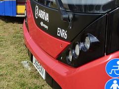 Arriva London ENR6 LK65 EKV (Glenn De Sousa) Tags: county bus london festival kent south db east company arriva thameside 2016 showground detling enr5