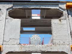 Doorkijkje (sander_sloots) Tags: skyscraper rotterdam neworleans warehouse fenix towerblock pakhuis loods woontoren doorkijkje loodsen hoogbouw fenixloodsen