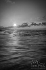 Sometimes (APGougePhotography) Tags: bw blackandwhite black white water beach waves sun clouds le longexposure carolina southcarolina south edisto edistobeach edistoisland summer