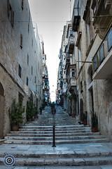 Valletta steps (Michael N Hayes) Tags: malta valletta mediterranean europe summer fujifilmxpro1 sea culture city