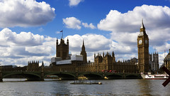 Houses of Parliament in dire need of repair (lunaryuna) Tags: uk england london metropolis riverthames landmark housesofparliament clocktower urbanlandscape repairworks scaffolding bridge westminsterbridge weather urbanskies sky clouds cloudscape light panoramicviews lunaryuna walkinthecity architecture