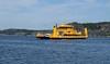 gullbritt (helena.e) Tags: helenae water lysekil ferrie färja gullbritt gul yellow vatten hav ocean