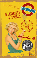 Sept.16.2016: Paint @ Mills Hardware, Hamilton (Paint (Official)) Tags: paint toronto rock band britpop display album release live music radio free universe of gentlemen cowards robb johannes jordan shepherdson keiko gutierrez devin jannetta pin up poster flyer clarence king mills hardware hamilton ontario sonic unyon records