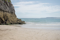 tenby - cliff sea (grahamdale74) Tags: alyssia caitlin chel roy joan mum dad 2016 south wales
