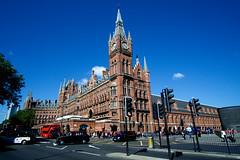 London St Pancras (nickcoates74) Tags: 12mm a6000 eurostar eustonroad ilce6000 london rokinon saintpancras samyang sony stpancras station uk